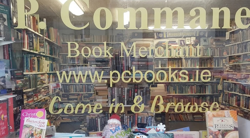about p commane books second hand books ireland